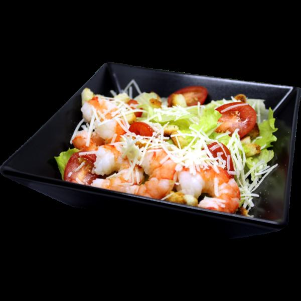 Salati ar garnelem
